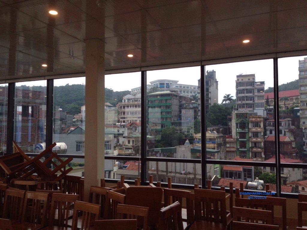 Thi công phim cách nhiệt Khách sạn – Thiên Hà Hotel Film, TP Bãi Cháy, Quảng Ninh