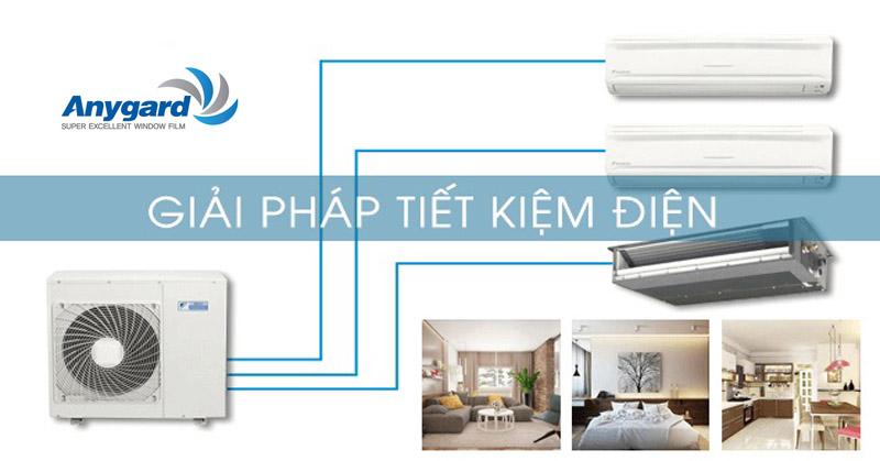 Dán kính chống nắng chung cư, dán phim cách nhiệt tiết kiệm điện điều hòa