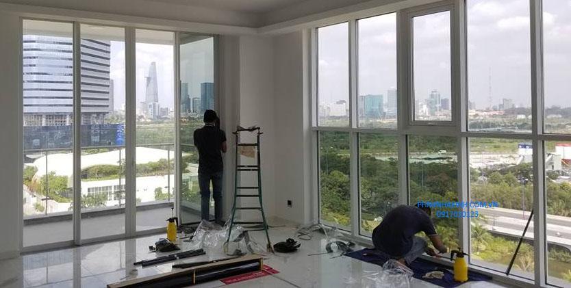Dán kính chống nóng chung cư, Dán kính chống nắng chung cư, phim cách nhiệt cho chung cư