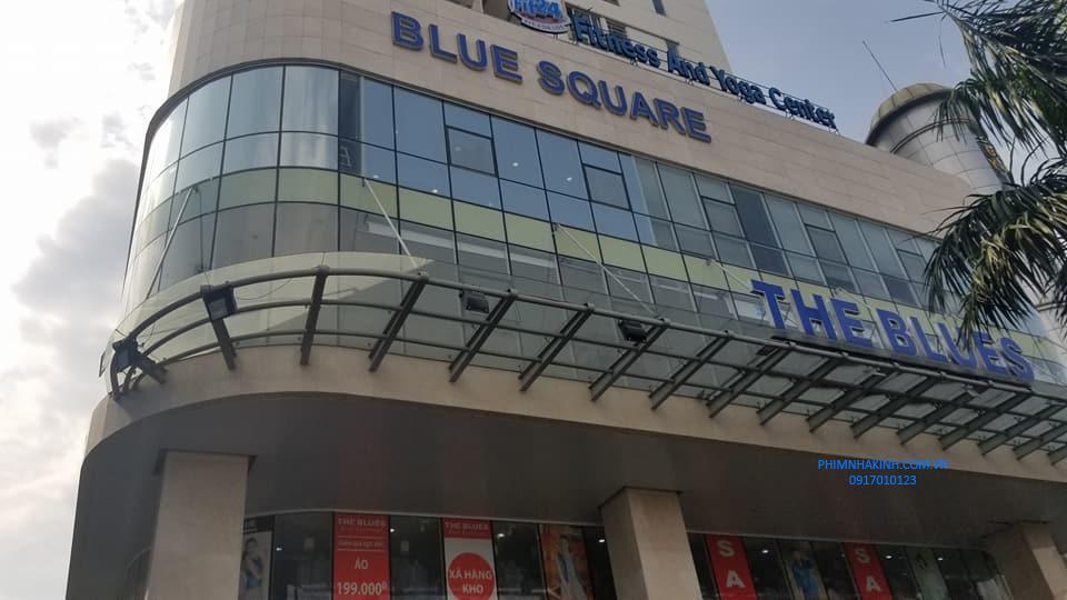 Khối đế tòa nhà Blue Square, Tân Bình, TP HCM