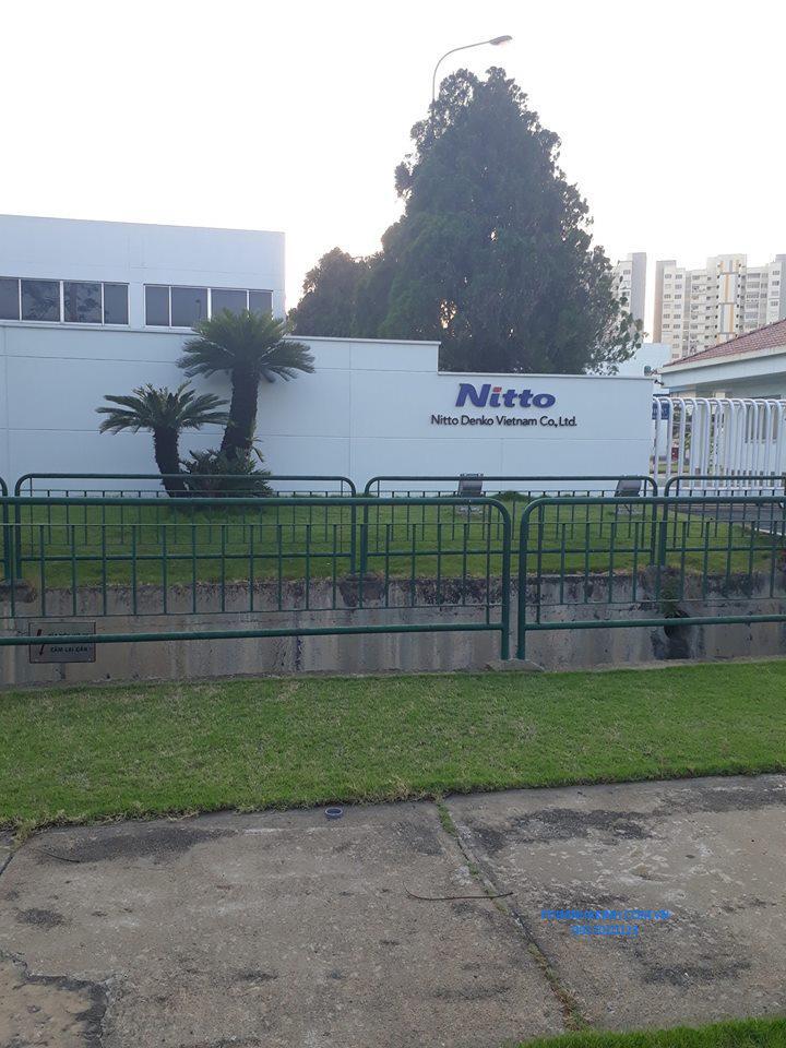 Dán phim cách nhiệt cho nhà máy Công ty Niito Denko, KCN Vship Bình Dương