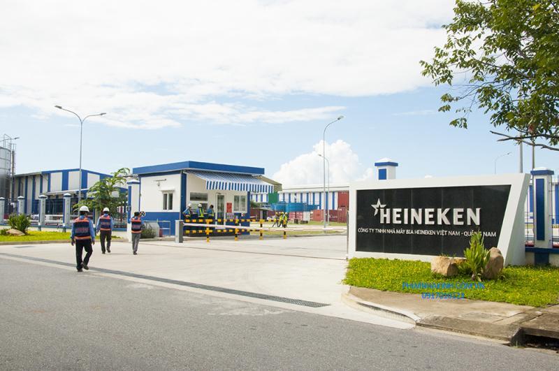 Nhà máy bia Heineken Quảng Nam