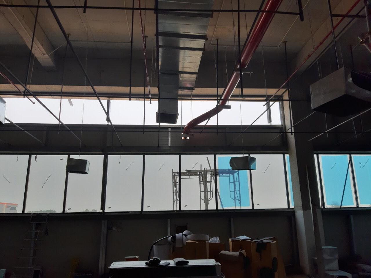 Phim cách nhiệt cho nhà máy VinsMart – Khu CNC Láng Hòa Lạc